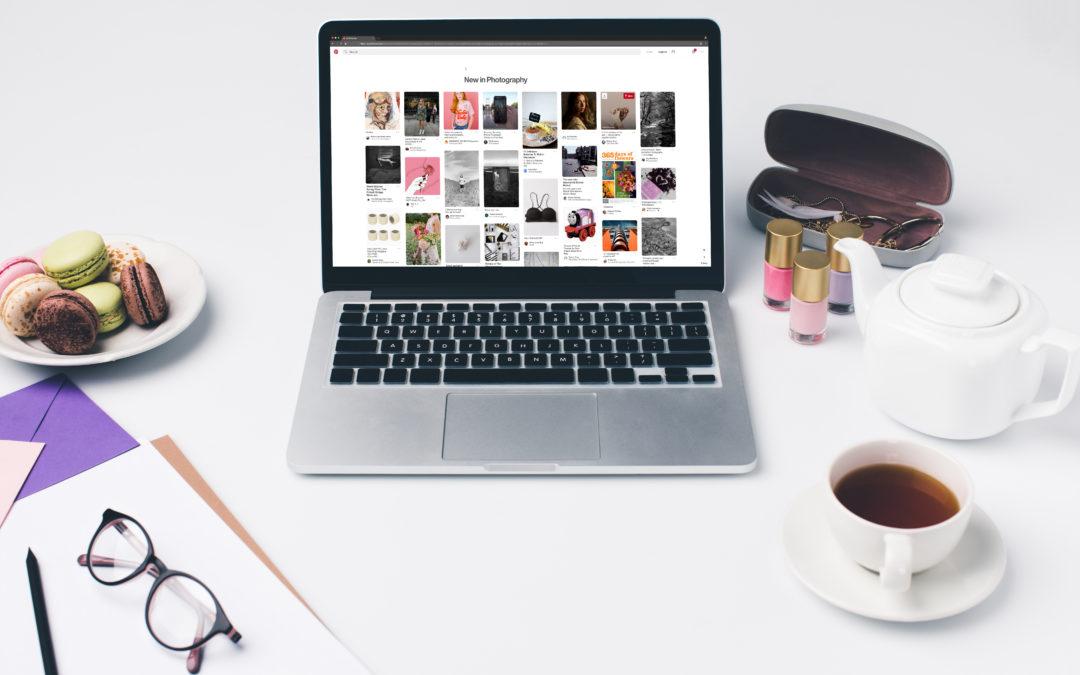 So arbeite ich – Pinterest Management